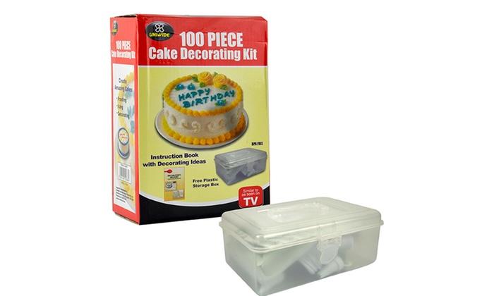 Cake Decorating Kit Groupon : 100-Piece Cake Decorating Kit Groupon