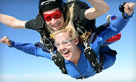Tandem Skydive Photo Shoot for One or Two with 50 Digital Images at Skydive Spaceland (Up to 45% Off)