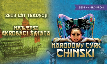 Od 45 zł: bilet na występ Narodowego Cyrku Chińskiego w ramach tournée 2017 – 6 miast (do -36%)
