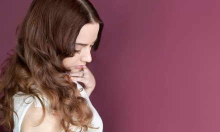 Haircut Package with Optional Full Highlights at Platform Artistic Hair Concept (Up to 58% Off)