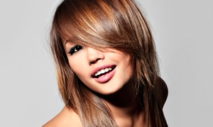 Piccolos' Beauty Salon: Haircut and Conditioning with Option for Color or Partial or Full Highlights at Piccolos' Beauty Salon (Up to 52% Off)