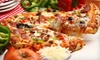 Checkers's Pizza & Ribs - Paynes: Pizza-and-Ribs Meal with Sides and Soda for Two or Four at Checkers's Pizza & Ribs (Up to 51% Off)