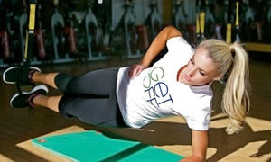 Off The Grid Fitness: 12 TRX, Boot Camp, or HIIT at Off The Grid Fitness (Up to 65% Off). Two Options Available.