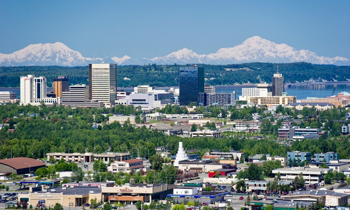 Alaska's Finest Tours & Cruises - Downtown Anchorage: Anchorage All Around City Tour for Two or Four from Alaska's Finest Tours & Cruises (Up to 52% Off)