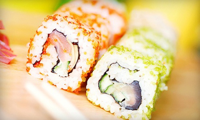 Tsunami Sushi - Huntington Beach: Japanese Cuisine and Drinks at Tsunami Sushi (Up to Half Off). Two Options Available.