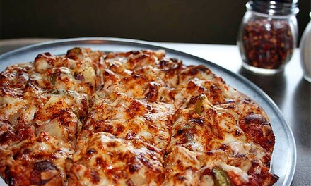 Pizza Meal for 2 or 4 or $25 Worth of Carryout at Jerseys Pizza & Grill in Hoffman Estates (Up to 50% Off)