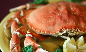 Chinn's 34th Street Fishery: Seafood and Drinks at Chinn's 34th Street Fishery (Up to 47% Off). Two Options Available.