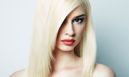 $25 for a Haircut, Condition, and Style from Shaunelle at Sante Fe Hair Co in Chandler ($55 Value)
