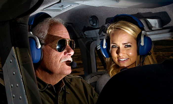 Airwork Las Vegas Inc. - Airwork Las Vegas Inc.: 30- or 60-Minute Flight Lesson with Ground School at Airwork Las Vegas (Up to 60% Off)