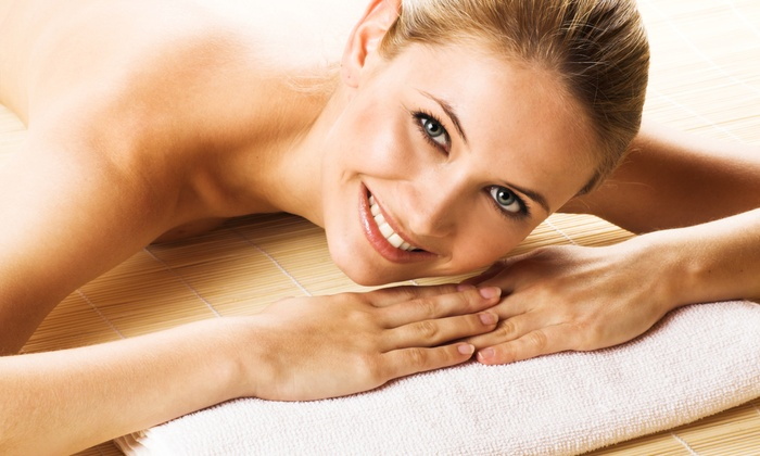 Oasis Salon and Spa - Waxahachie: Massages with Wine and Jacuzzi Sessions at Oasis Salon and Spa (Up to 55% Off). Three Options Available.