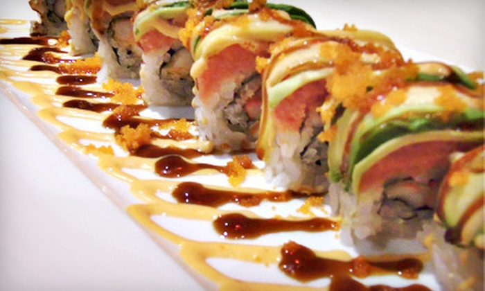 Sushi on the Rocks - Castleton: Japanese Dinner and Drinks for Two or Four at Sushi on the Rocks (Up to 54% Off)