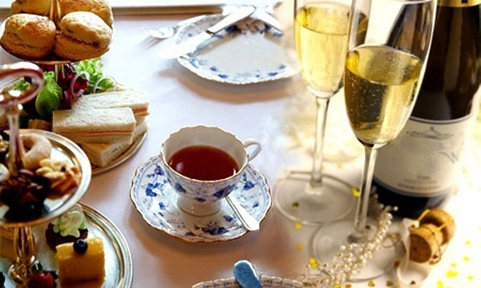Hoar Park - Nuneaton: Afternoon Tea For Two (£14) With Prosecco (£19) at Hoar Park