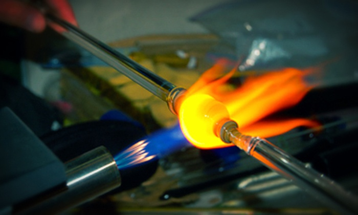 Design with Fire - West Sacramento: Glass-Blowing, Bead-Making, or Glass Fusion Class at Design with Fire (Up to 66% Off)