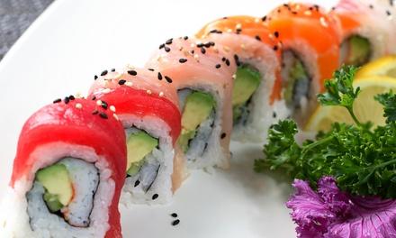 3 uur lang onbeperkt sushi, grill, teppanyaki, wok en dessertbuffet bij Asaki Sushi in het centrum van Enschede