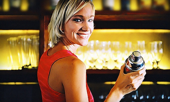 AAA International Bartending School - Golden Triangle: Mixology Class for One or Two, or Bartending Certification Course (Up to 75% Off)