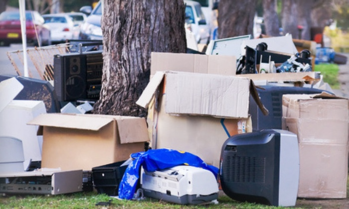 Junk Rockers - Houston: Junk Removal for Up to 1.5 Cubic Yards or Up to 4 Cubic Yards of Waste from Junk Rockers (Up to 54% Off)