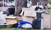 Junk Rockers-Junk Removal Services: Junk Removal for Up to 1.5 Cubic Yards or Up to 4 Cubic Yards of Waste from Junk Rockers (Up to 54% Off)