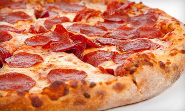 Sliceria Pizzeria - Brooklyn: 18-Inch One-Topping Pizza & Soda