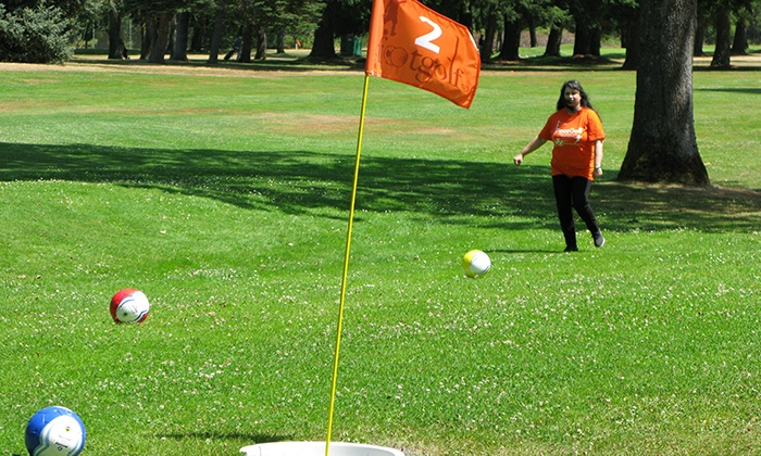 Jefferson Park Golf Course - North Beacon Hill: One Day of Unlimited FootGolf for One, Two, or Four at Jefferson Park Golf Course (Up to 50% Off)