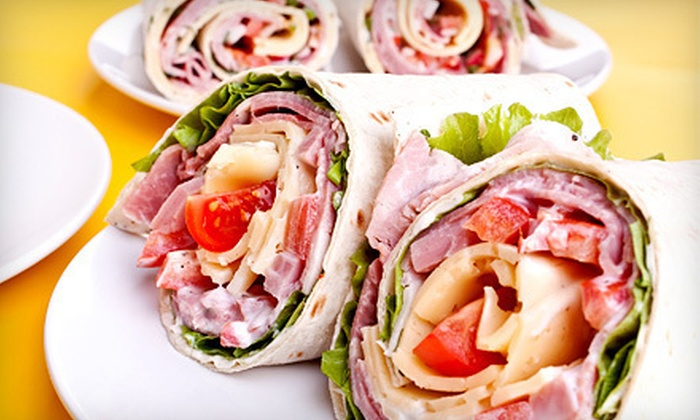 East End Cafe - Point Breeze: $15 for a Five-Item Punch Card for Sandwiches, Salads, and Wraps at East End Cafe (Up to $30 Value)