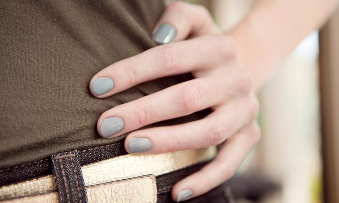 Salon FX - East Troy: Spa Pedicure or Shellac Manicure at Salon Fx (Half Off)