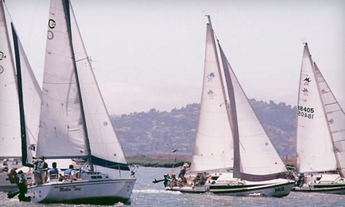 Spinnaker Sailing - Redwood City: Basic Keelboat Sailing Lesson for One or Two People from Spinnaker Sailing in Redwood City (Up to 53% Off)
