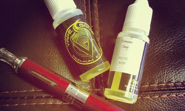 Vape Game: Electronic Cigarette Lounge - Springfield: $10 for $20 Worth of E-Cigarettes and Alternative-Smoking Products atVape Game: ElectronicCigarette Lounge