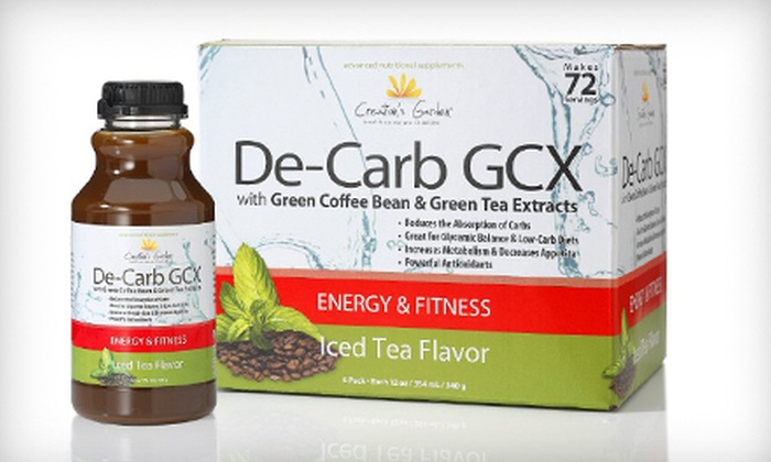 Hollywood Vitality: De-Carb GCX Weight-Loss Supplements from Hollywood Vitality (Up to 63% Off). Three Options Available.
