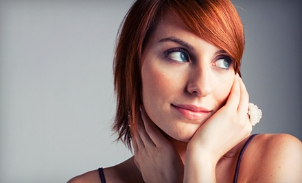 Haircut and Style with Optional Single-Process Color or Highlights from Lucy at the Baja Salon (Up to 55% Off)