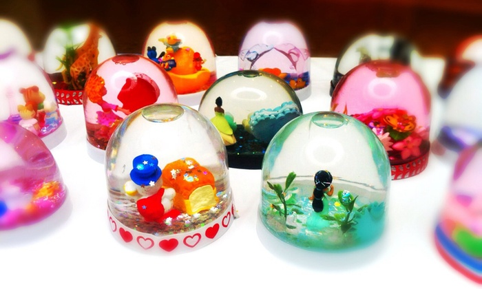Hale Hana Waikiki - Honolulu: $35 for $75 Worth of Custom Snow Globes at Hale Hana Waikiki