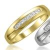 1/4 CTTW Men's Diamond Bands in 14K Gold