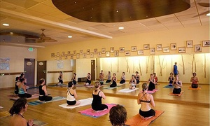 Being Yoga: $15 for One Month of Unlimited 90-Minute Yoga Classes at Being Yoga ($30 Value)