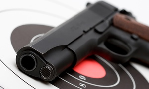Patriot Firearm & Family Shooting Center: Range Package for One or Two (Up to53% Off)