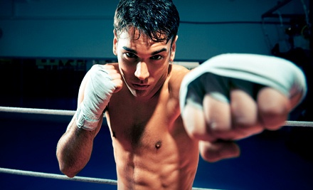 10 Kickboxing Classes (a $130 value) - PinPoint Muay Thai in Lynbrook