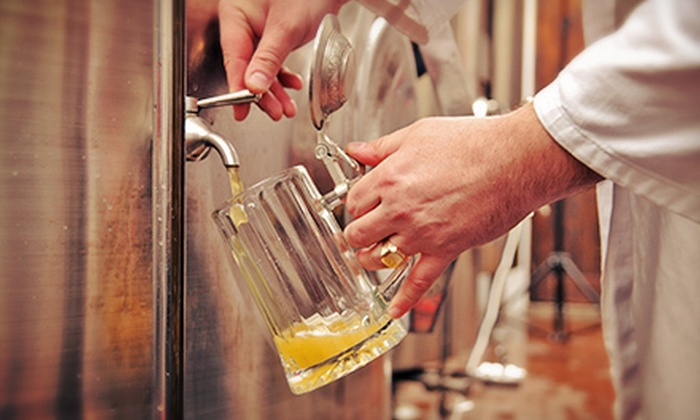 Booth's Brewing - Booth's Brewing: $25 for a Beer-Brewing Class for Two at Booth's Brewing ($50 Value)