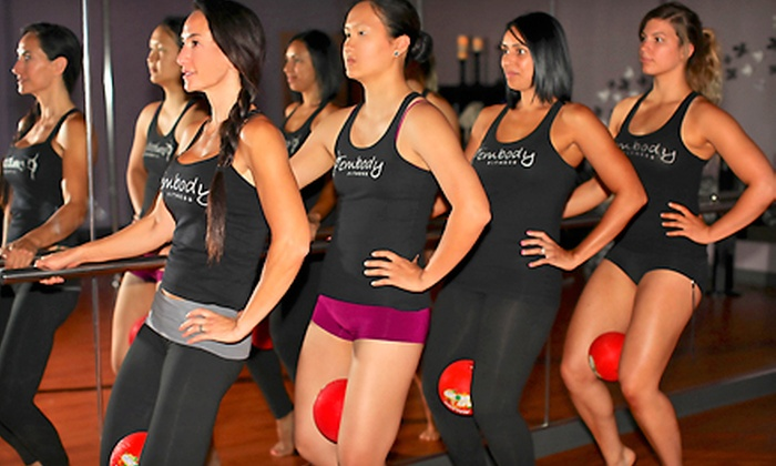 Fembody Fitness - Washington: 3 or 8 Barre Fitness Classes or a Private Burlesque Party for Up to 10 at Fembody Fitness (Up to 82% Off)