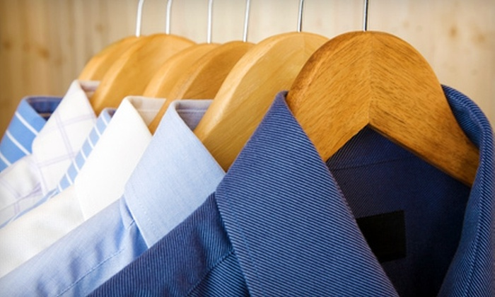 1-800-DryClean - CORDOVA: Pick-Up and Delivery Dry-Cleaning Services from 1-800-DryClean (Up to 61% Off). Two Options Available.
