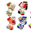 Girls Knit Socks with Non-Skid Bottoms (12-Pack)
