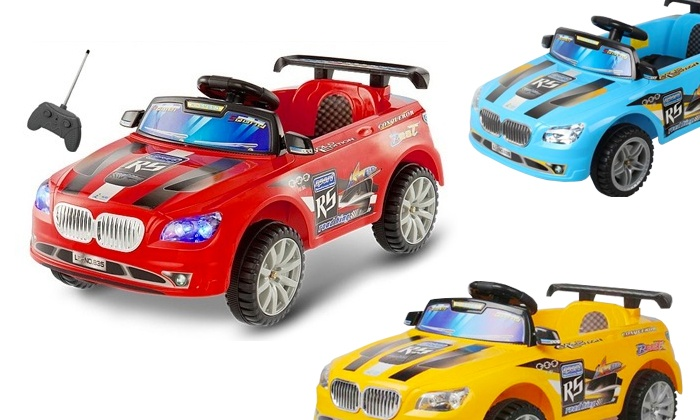 Groupon Goods: Ride-on Thunder Race Car for R1 249 Including Delivery (58% off)