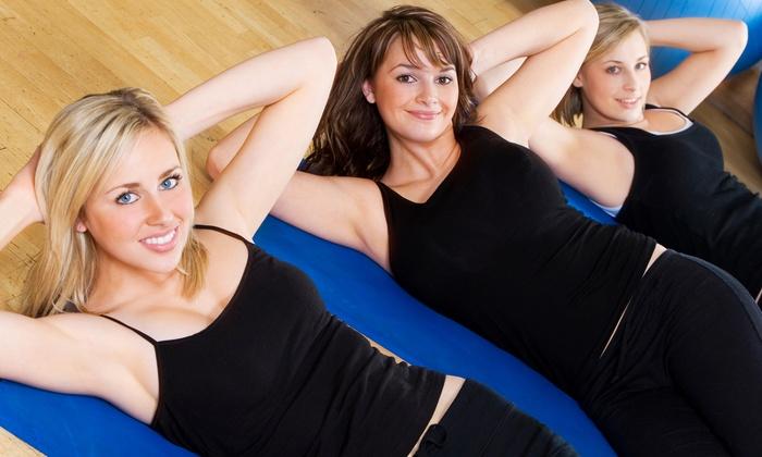 Serenite' Fitness Featuring BarreAmped - Serenite Fitness: 5 or 10 BarreAmped Classes or Core Rhythm Classes at Serenite' Fitness (Up to 70% Off)