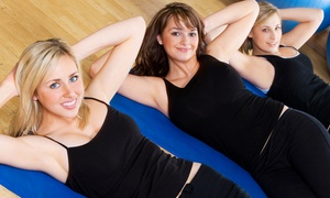 Serenite Fitness: 5 or 10 BarreAmped Classes, Core-Rhythm Classes, or Yoga Classes at Serenite Fitness (Up to 68% Off)