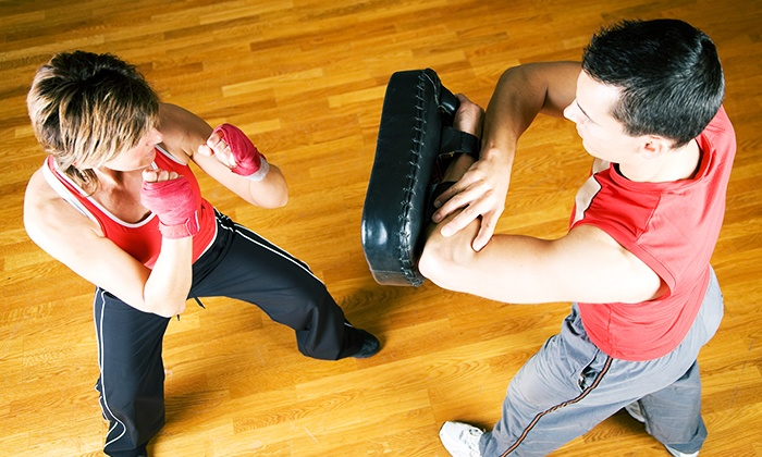 Fit or Fight - Valley Park: One or Two Months of Unlimited Cardio or Adult MMA Classes at Fit or Fight (Up to 58% Off)