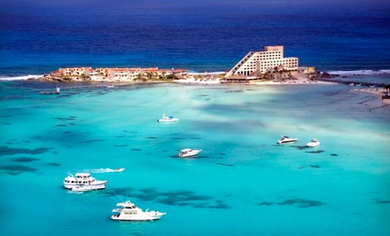 Groupon Deal: Four- or Five-Night Stay with Breakfast at Avalon Reef Isla Mujeres in Mexico