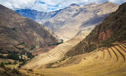 groupon daily deal - ✈ 7-Day Tour of Peru with Airfare, Hotels, and Some Meals from Gate 1 Travel. Price/Person Based on Double Occupancy.