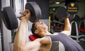 Academia A+ Gym: Academia A+ Gym – Contagem: 3, 6 ou 12 meses de musculação e 9 modalidades