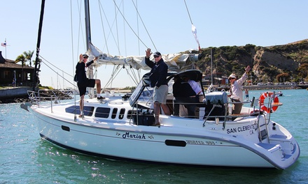 $310 for a Sailing-Lesson Package with Certification from Aventura Sailing Association (Up to $575 Value)