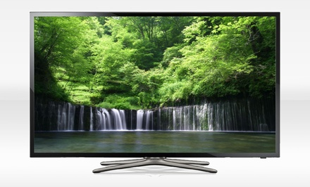 groupon daily deal - Samsung 50'' LED 1080p 60Hz Smart HDTV