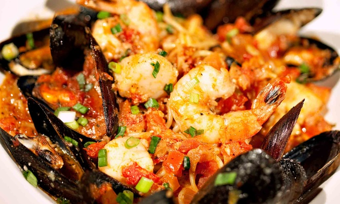 Cajun Islands - Westminster: Shrimp, Clams, Mussels, Crawfish, Snow Crab, Lobster at Cajun Islands (Up to 46% Off). Three Options Available.