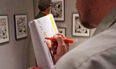 Individual or Family Membership at the Cartoon Art Museum (40% Off)