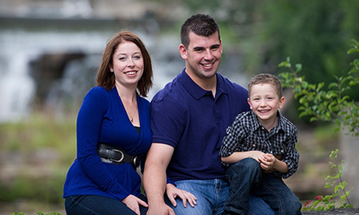 """BH Photography - Almonte: $69 for an In-Studio Family Photo Shoot with a 11""""x14"""" Print at BH Photography ($174.50 Value)"""